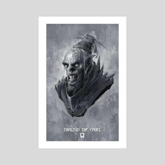 Thalzud the Cruel - Warchiefs series  by Cosmin Podar