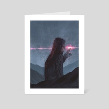 Daybreak - Art Card by Anke Gladnick