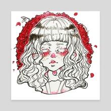 Flower Girl - Canvas by Myrmidia