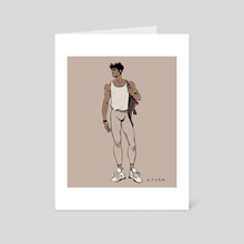 Ballerino 3 - Art Card by Kenny Park