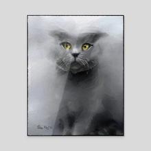 Cat - Acrylic by Tobias
