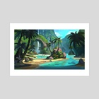 Tropical Environment - Art Print by Yog Joshi
