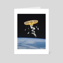 Space Carousel II - Art Card by Justin Peters