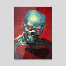 Man of Tomorrow - Acrylic by Neeraj Menon