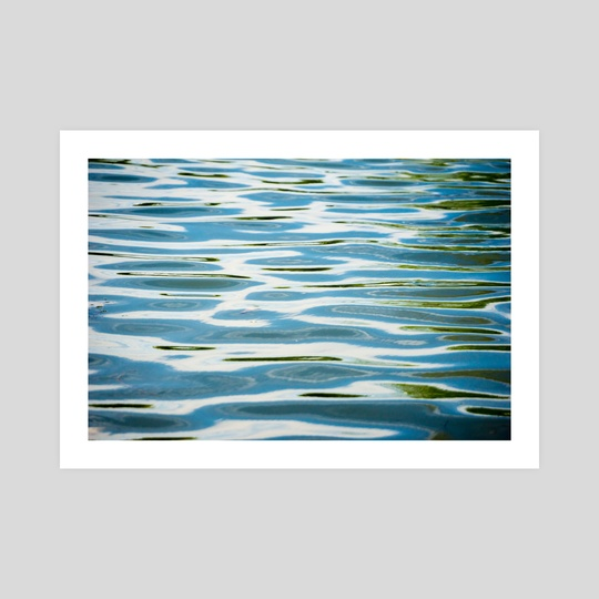 Waves on a Pond by Brent Olson