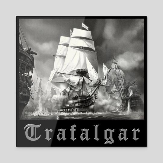 BATTLE OF TRAFALGAR by DrawingArt1964