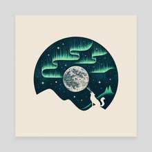 Arctic Tune - Canvas by Enkel Dika