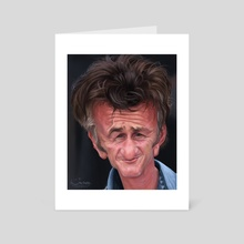 Sean Penn - Art Card by Alexander Novoseltsev