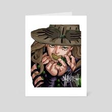 GO! GO! Zeppeli Redraw - Art Card by Milky Milks