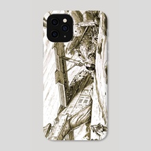 Scavenger's Graveyard - Phone Case by Paul Rivoche