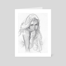 Viktoriya - Art Card by james martin