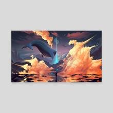 Cloud Way - Canvas by Gammatrap
