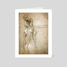 maleficent - Art Card by Matthias Derenbach