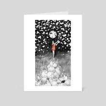 Broken Dreams and Precious Pieces  - Art Card by Etubi Onucheyo
