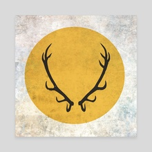 Game of Thrones - Baratheon House - Canvas by Andres Sc