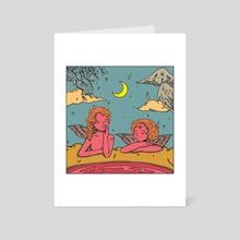 love poetry - Art Card by Ranti Amelia