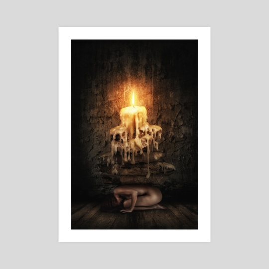 Weight Of Existence by Artea Media Prints