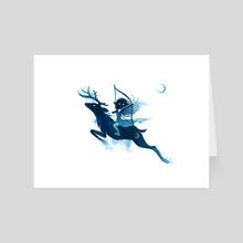 Elf Archer - Art Card by Indré Bankauskaité