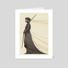 Daughter of Necessity - Art Card by Ashley Mackenzie