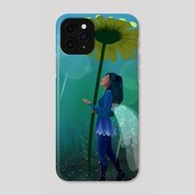 Hada Bajo la Lluvia - Phone Case by Katty Montalvo
