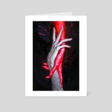 ALLURE - Art Card by Tanya Shatseva