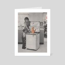 Dishwasher - Art Card by alex boyce