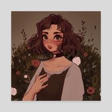 In the Garden - Canvas by Dreachie