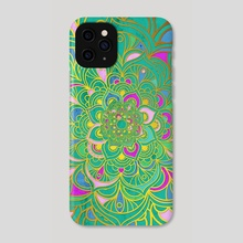 Mandala - Colors - Phone Case by Alexandre Ibáñez