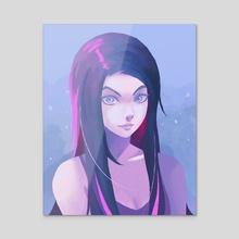 Popsicle - Acrylic by Skitten