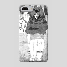 Bear Woman - Phone Case by Malcolm Maune