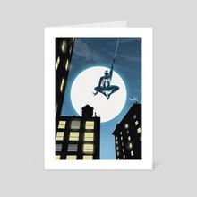 Spider-Man Black suit - Art Card by Dani Parker