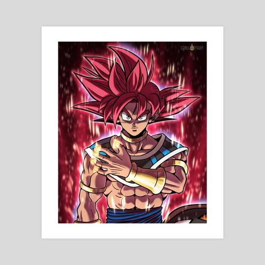 God of Destruction Goku by CELL-MAN