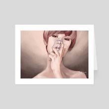 Breath in... - Art Card by Klaudia Kazecka