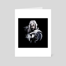 The Witcher - Geralt - Art Card by STAMOS