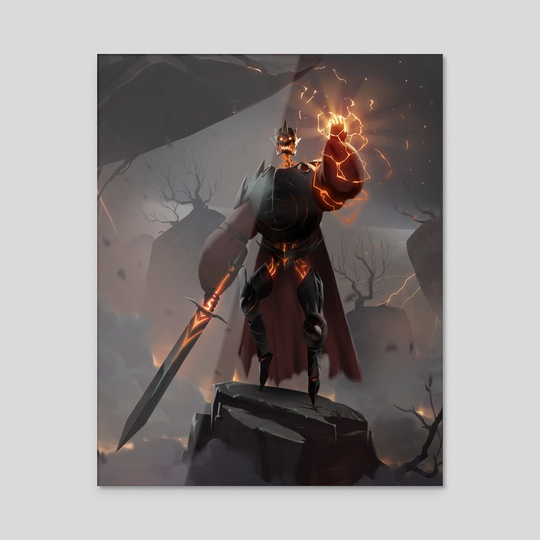 Thunder Knight by Maximilian Degen
