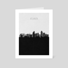 Atlanta (2nd Version) - Art Card by Deniz Akerman