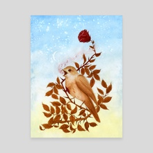 The Nightingale and the Rose - Canvas by Zach Hill