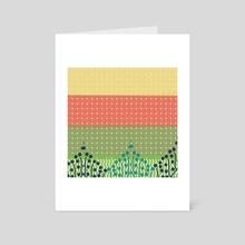 Calm 2 - Art Card by Navita Williams