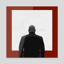 Kingpin - Acrylic by Gokul  Gautham