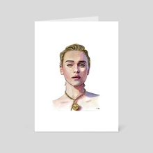 emilia clarke - Art Card by Marta  Dasic