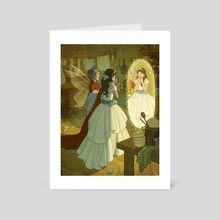 Cinderella - Art Card by Kelley McMorris