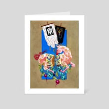 Your Heart Is An Open Palm - Art Card by Kit Mizeres