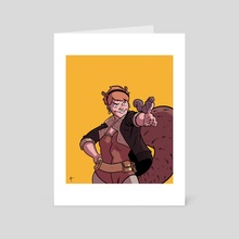 Squirrel Girl - Art Card by Artyom Topilin