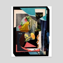 far side - Canvas by allison anne
