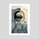 Schlafly Lunar Lager Illustration 03 - Art Print by Tom Moore