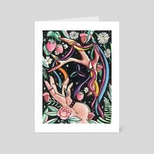 Beltane 2021 - Art Card by Pink Fang