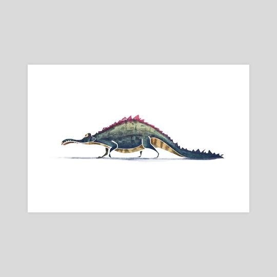 Alligator  by Ali Saei