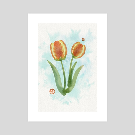 Tulips by Kim Z.