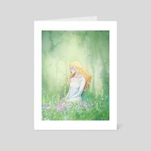 Whisperings - Art Card by Ellen Wilberg