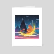Adventure - Art Card by Oil Little